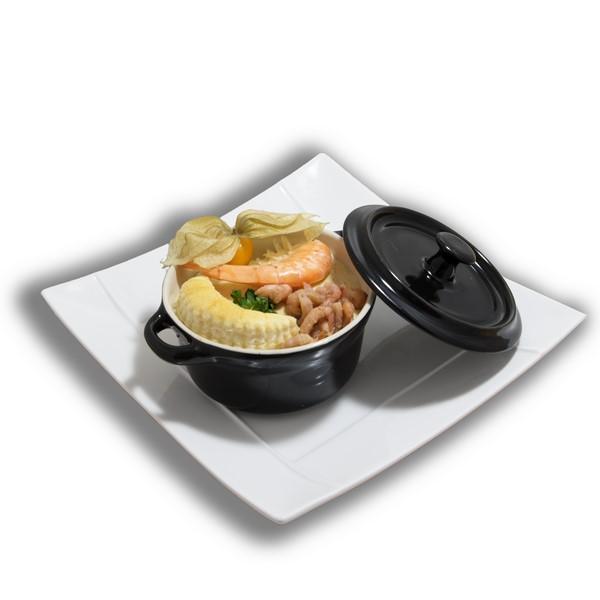 Cassolette de poissons à la Dieppoise