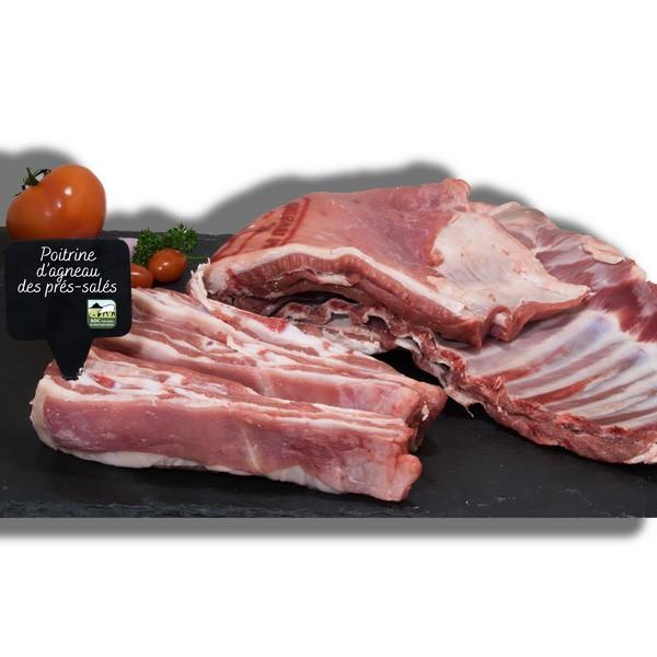 Poitrine d'agneau des prés-salés