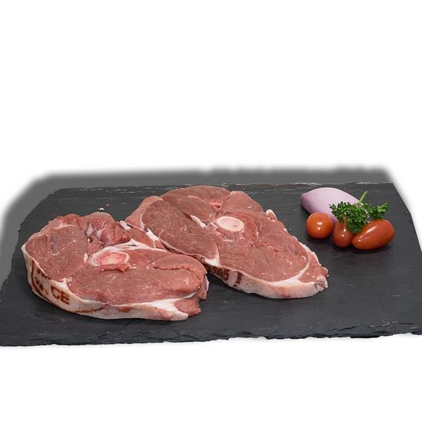 2 tranches de gigot d'agneau des prés-salés