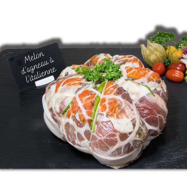 Melon d'agneau à l'italienne