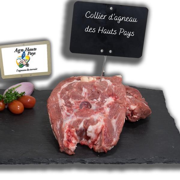 Collier d'agneau des Hauts Pays