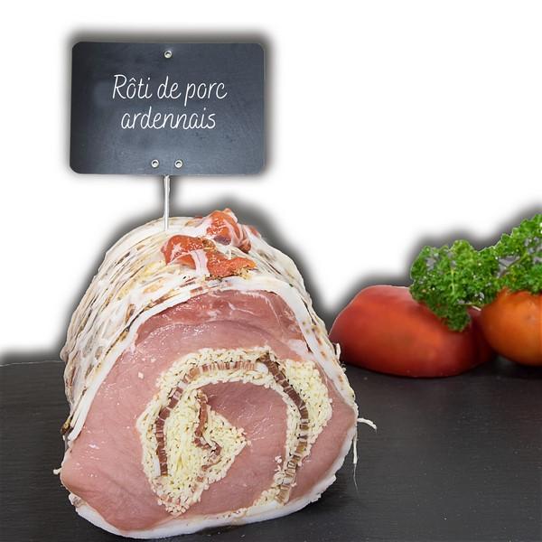 Rôti de porc ardennais