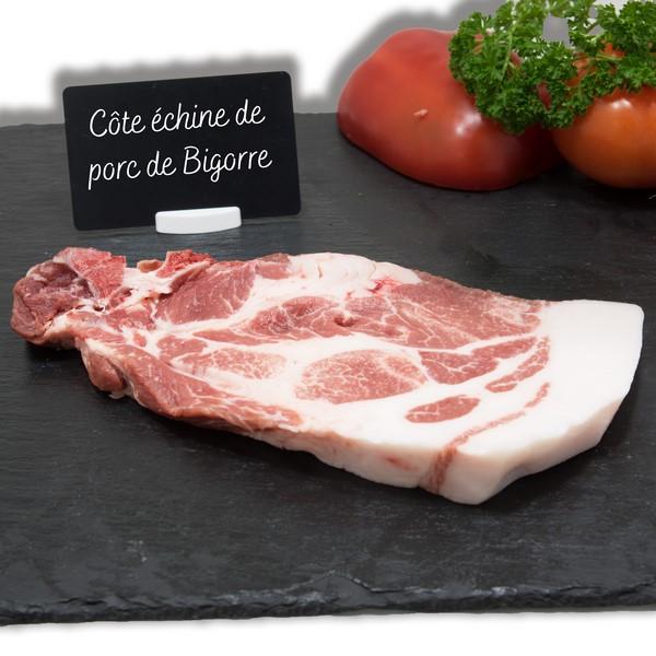 Côte échine de porc de Bigorre