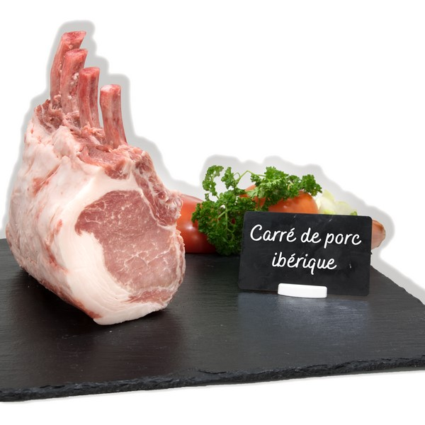 Carré de porc ibérique
